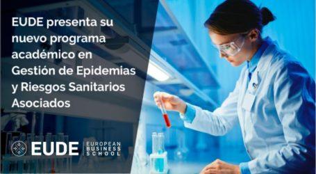 EUDE presenta su nuevo programa académico en Gestión de Epidemias y Riesgos Sanitarios Asociados