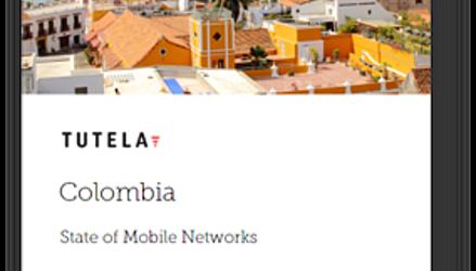 Tigo ofrece la mejor experiencia en redes celulares de Colombia y Claro las velocidades de descarga más rápidas