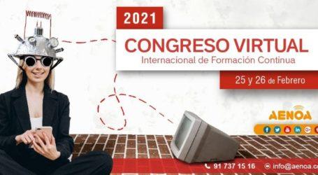El Congreso Internacional de Formación Continua Aenoa abrirá para el público y ponentes Colombianos