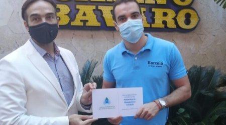 Casino Bávaro del Barceló Bávaro Grand Resort se certifica de las medidas antiCovid-19