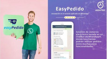 EasyPedido solución de comercio electrónico para WhatsApp desarrollada por Adatec