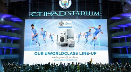 Midea impulsa asociación global con Manchester City